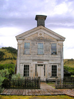 Bannack, MT - Masonic Lodge Today