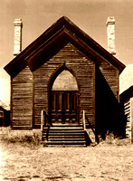Bannack, MT - Methodist Church Vintage