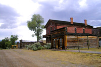 Bannack, MT - Main Street & Hotel Meade