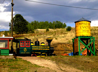 Cripple Creek, CO - Cripple Creek & Victor Railroad