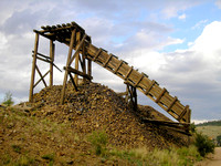 Cripple Creek, CO - Mining Remnants