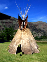 Nez Perce National Park - Buffalo Hide Tipi