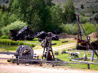 Nevada City, MT - Mining Remains