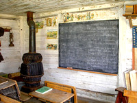 Nevada City, MT - Oldest School in Montana Interior