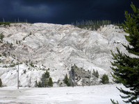 Yellowstone, WY - A Bald Mountain