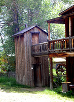 Nevada City, MT - Two Story Outhouse