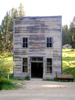 Garnet, MT - Old Building - 2