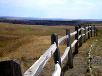 Badlands, SD - Fence