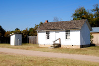 Wichita, KS - Old Cowtown - Blood Family Homestead