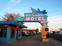 Tucumcari, NM - Blue Swallow Motel Neon