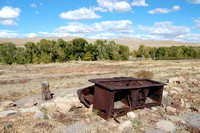 Fort Fred Steele, WY - Stove