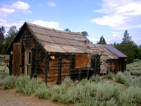Atlantic City, WY - Duncan Mill Shacks