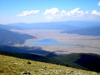 Eagle Nest Lake - From Mount Baldy