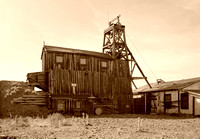 South Pass City, WY - Carissa Mine, vintage