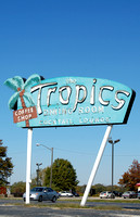 Lincoln, IL - Tropics Sign