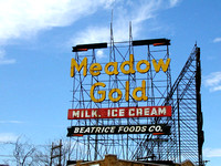 Tulsa, OK - Meadow Gold Sign Today