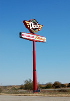 McLean, IL - Dixie Truck Stop Sign