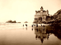 San Francisco - Cliff House and Seal Rocks, 1902