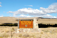 Fort Fred Steele, WY - Sign