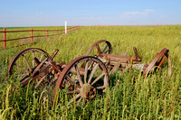Grant County, KS - Wagon Bed Spring