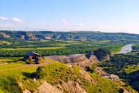 Roosevelt Nat Park, ND - River Bend Overlook