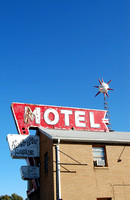 Springfield, IL - Bel-Aire Motel Sign
