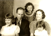 Foster Family, about 1946