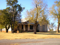 Foss, OK -Old House