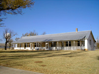 Fort Reno, OK - Cavalry Barracks - 2
