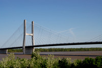 Cape Girardeau, MO - Mississippi River Bridge at