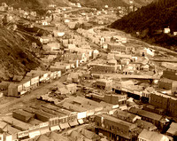 Deadwood, SD -  Downtown View, 1888