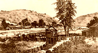 Coloma, CA - Sutter's Mill Historic Drawing