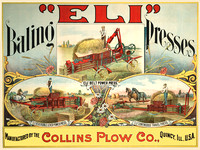 Collins Plow Company Advertisement
