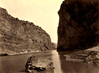 Gunnison - Black Canyon, 1871