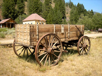 Custer, ID - Wagon