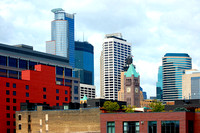 Minneapolis, MN - Skyline - 3