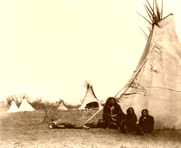 Comanche - Camp, 1873