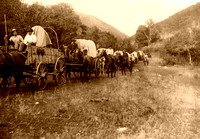 Wagon Train in Utah