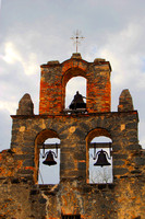 San Antonio, TX - Mission Espada- Church Bells-Enhanced