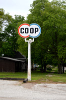 Blue Rapids, KS - Coop Sign