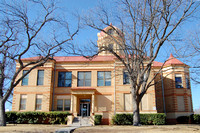 Bracketville, TX - Kinney County Courthouse
