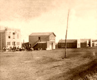 Ellsworth, KS - Main Street, 1867