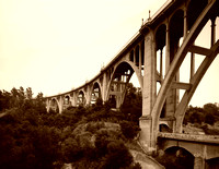 Pasadena, CA - Colorado Street Bridge, 1988