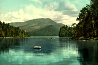 Eagle Lake, Adirondack Mountains, NY, 1902