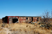 Langtry, TX - Railroad Boxcar House