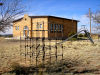 Ancho, NM - School & Playground