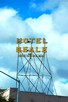 Kingman, AZ - Hotel Beale Sign
