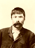 Tom O'Day, aka Joe Chancellor, outlaw member of the Wild Bunch, 1900