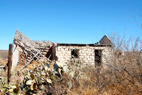 Langtry, TX - Collapsed Stone Building