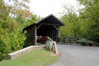 Sevier County, TN - Harrisburg Covered Bridge